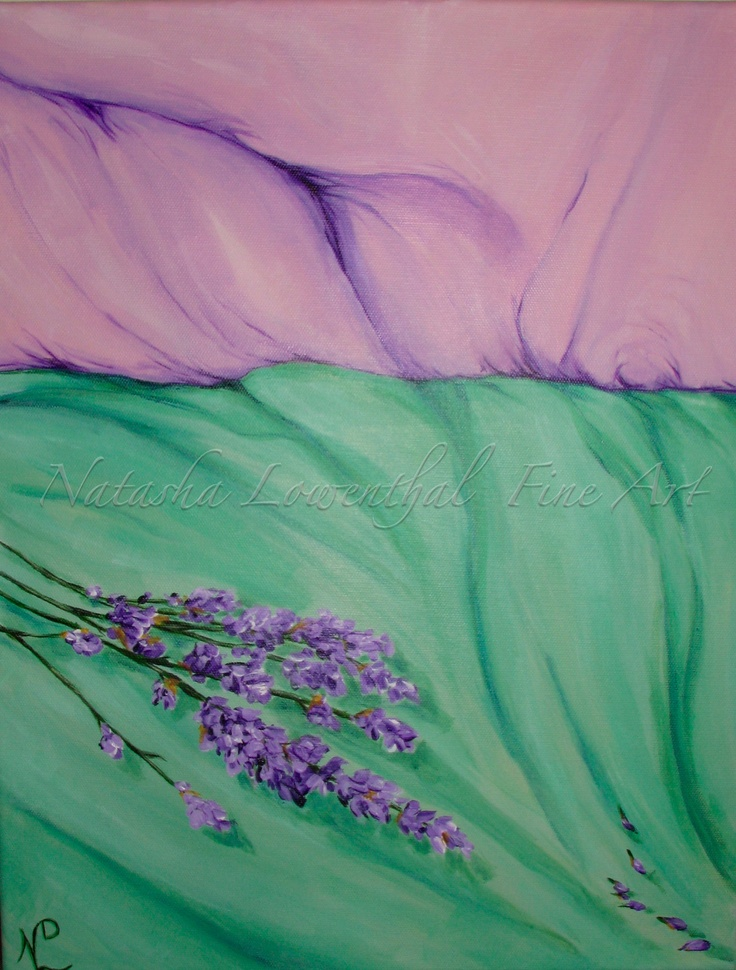 """Sweet Dreams"" by Natasha Lowenthal, acrylic on canvas, decor"