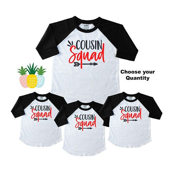 f676835a0 Cousin Squad Shirts for Kids - Family Reunion Cousin Shirts - Matching  Cousin Shirts - Family Gather | Products | Family shirts, Family reunion  shirts, ...