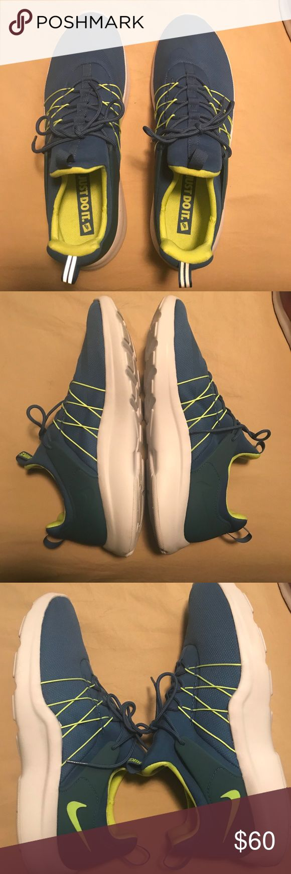 Nike Eclipse Green and Blue Nike Eclipse. Great condition Nike Shoes Sneakers