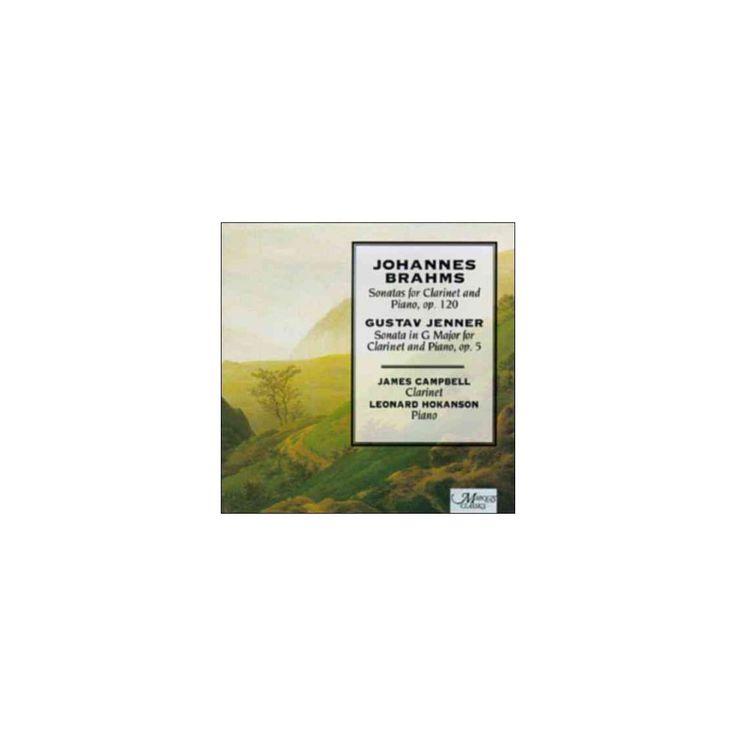 James campbell - Brahms:Clarinet sonatas (CD)