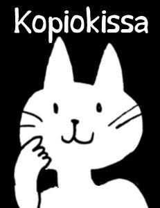 Kopiokissa-sarjakuva