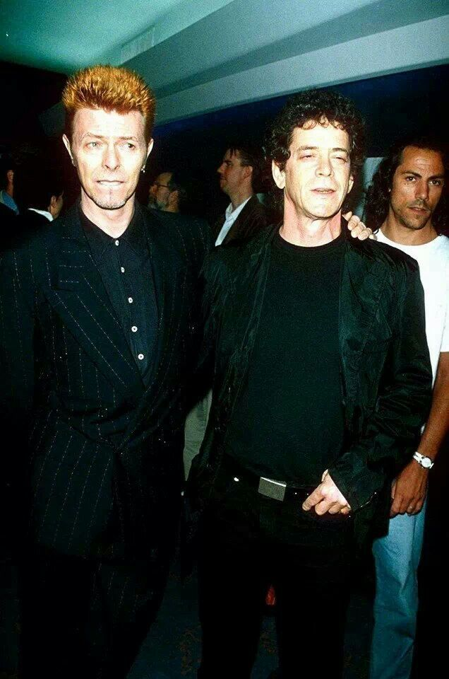 with Lou Reed