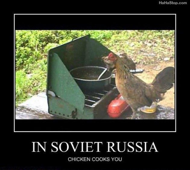 In Soviet Russia (13 Pics)