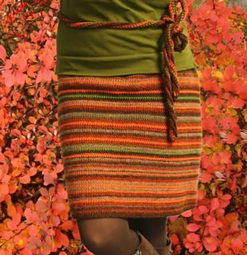 """Harvest"" Skirt - Free Ravelry downloadable #crochet pattern"