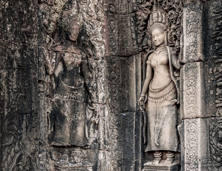 Details of Bayon temple