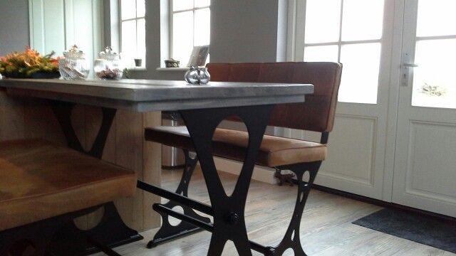 ODD bankje en tafel oké-woonstyle Geertruidenberg