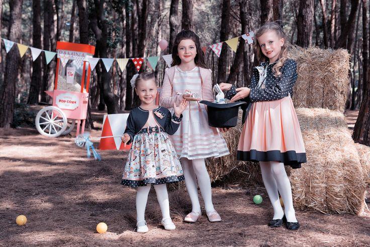 Pamina'nın sihirli dünyası! Pamina's magic world! Волшебный мир Памины! عالم بامينا السحري  #dress #elbise #chic #kidswear #kids #girl