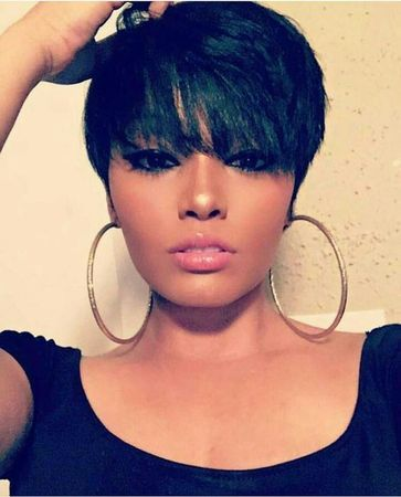 short wigs for black women african american wigs human hair wigs short pixie hairstyles