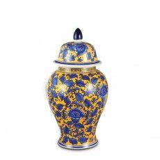 Pote de Cerâmica com Tampa.
