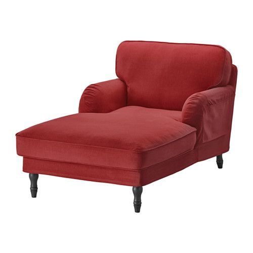 STOCKSUND Chaise IKEA Extra wide and deep armchair with plenty of room for you to sit and relax comfortably.