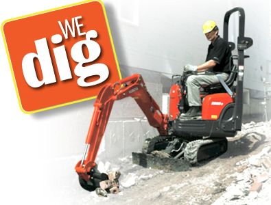 We can dig your window well in under 30 minutes. #Basement  #Windows #Calgary