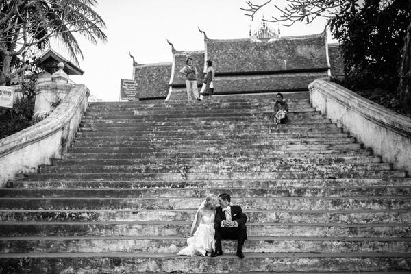 Destination Wedding at Luang Say Residence in Luang Prabang Laos by Photographer Julian Abram Wainwright - Full Post: http://www.brideswithoutborders.com/inspiration/destination-wedding-in-luang-prabang-laos-by-julian-wainwright