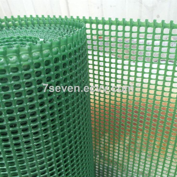 Factory Supply Green Gardening Fence Plastic Squsre Mesh