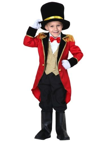 When they wear this Toddler Ringmaster Costume, the circus will probably be the best ever with them at the helm!