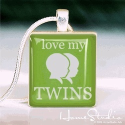 Love My Twins Necklace