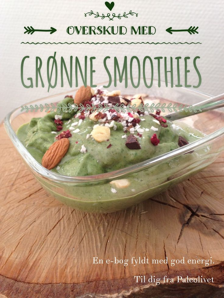Lowcrabgreenfibre anmelder: Overskud med grønne smoothies (Malene B. Dollerup)