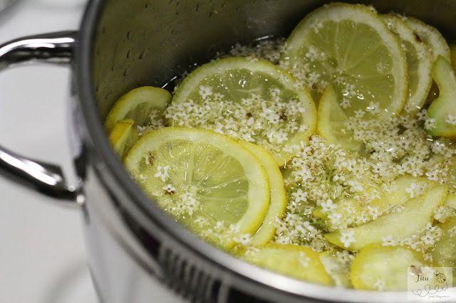 Jitu: Bezinkový sirup, med a marmeláda