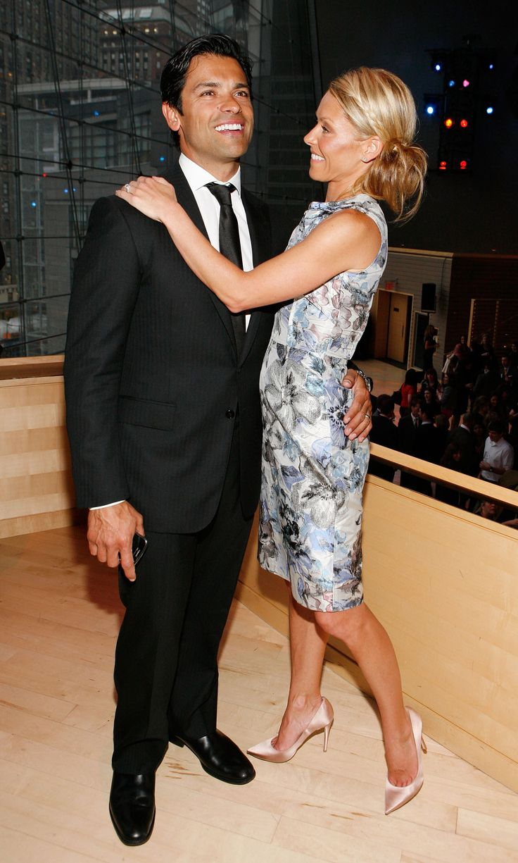Kelly Ripa and her husband, Mark Consuelos