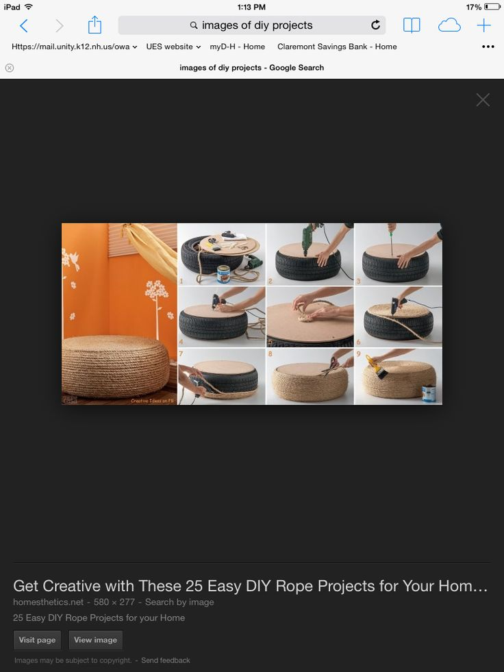 15 best do it yourself diy images on pinterest fashion yup only some rope and a tire mainly ropesdiyscordsbricolagedo it yourselffai solutioingenieria Image collections