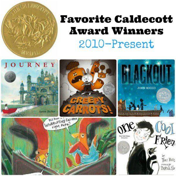 favorite caldecott award winners 2010present books for kidskid