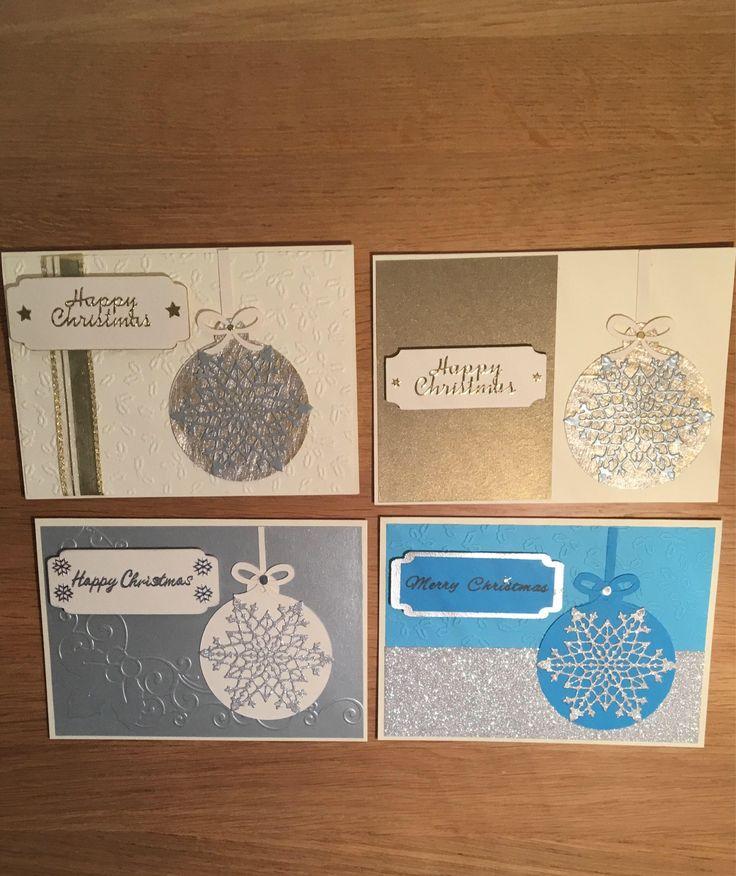 #packofchristmascards #handmadechristmascards #cardsbargainpack #christmasbaubles #xmascards #christmascards