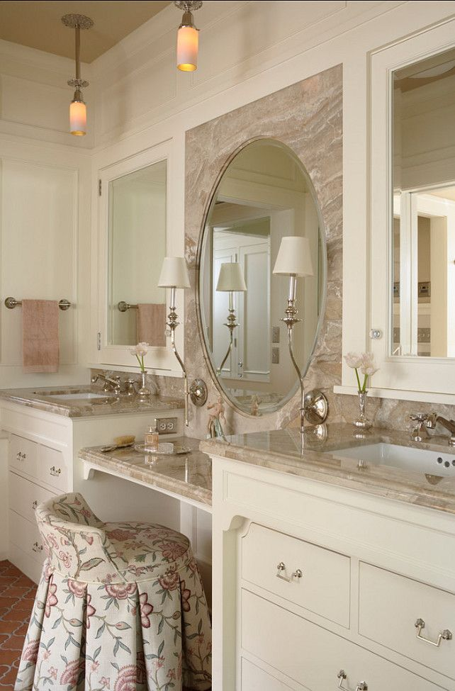 love the vanity chair could make this out of a 5 gal bucket or redo one of those cheap target stools classic bathroom vanity love this little chair