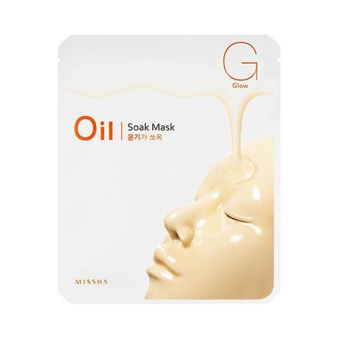 [MISSHA] Oil Soak Mask-Glow