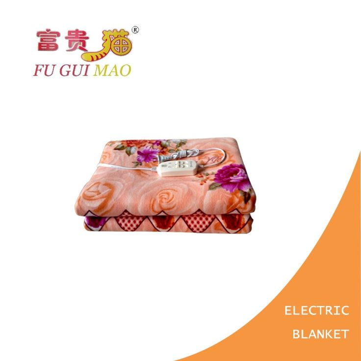 36.81$  Buy now - http://alicb3.shopchina.info/go.php?t=32755034596 - FUGUIMAO Electric Blanket Double Electric Heating Blanket Control Switch Plush Heated Blanket 220v Manta Electrica 150x180cm   #buyonline