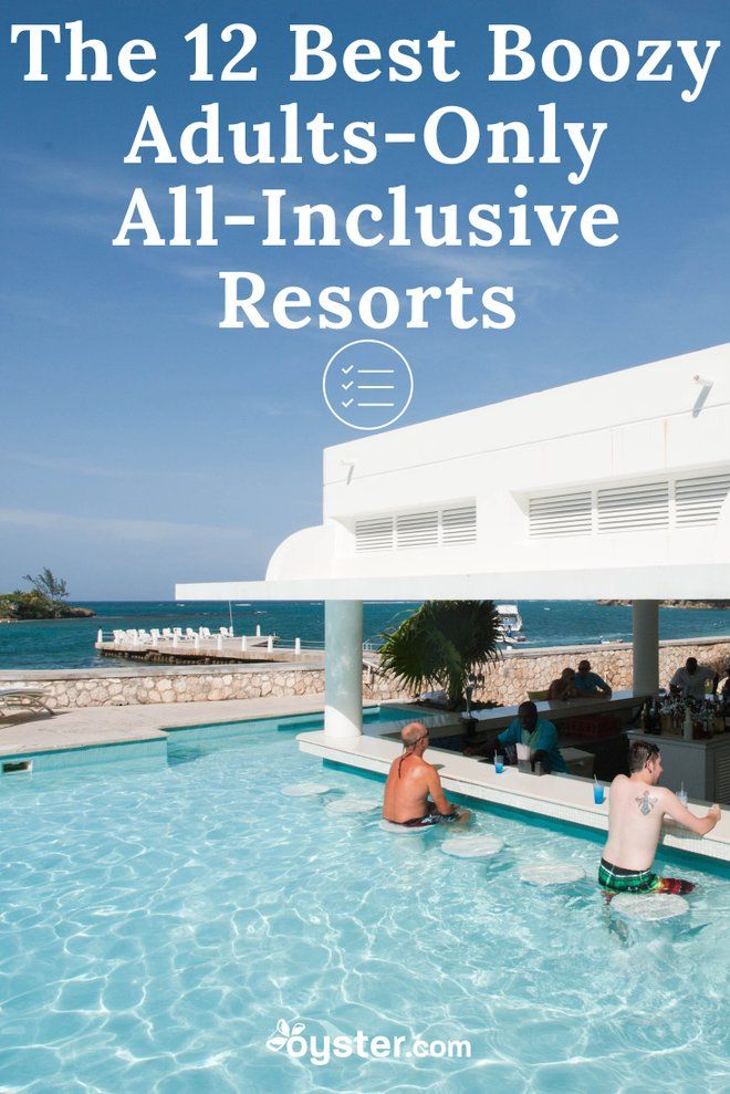 All inclusive all adult vacations
