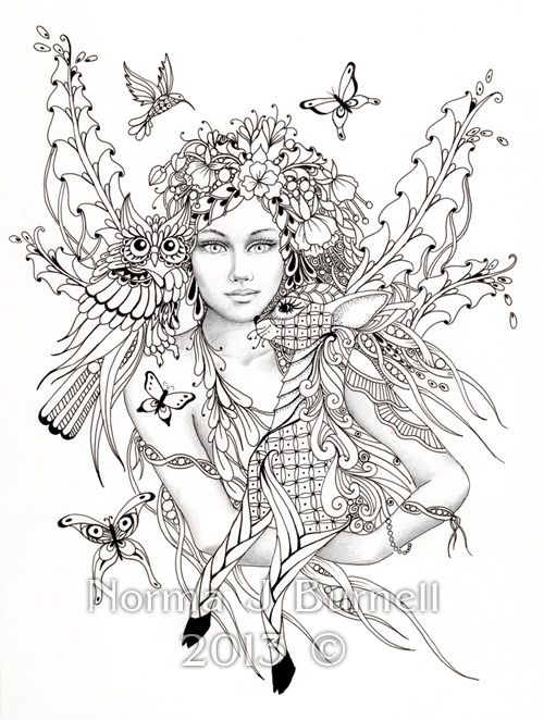 Advanced Coloring Pages - Enjoy Coloring