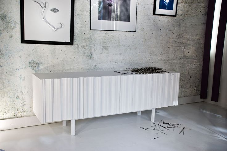 Sideboard Hermanus 180 white, design by Björn Welander for @WELANDER DESIGN