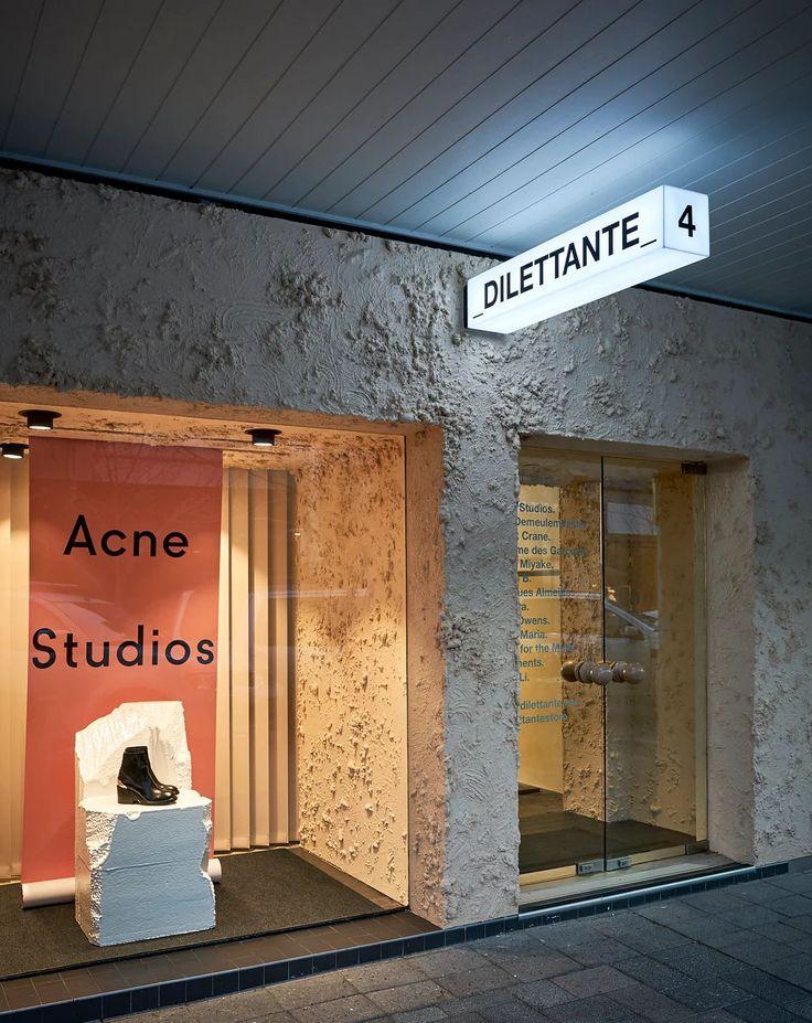 Acne Studios render stucco dilettante