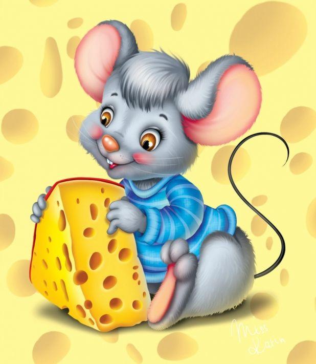 Картинки мыши мультяшные