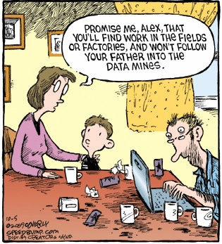 Generationenkonflikt.