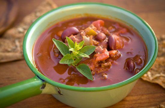 Фасолевый суп чили