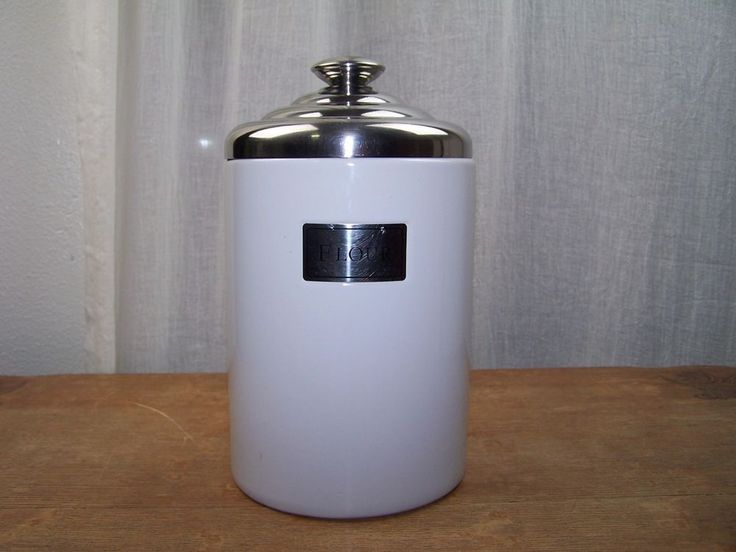 1000 ideas about flour canister on pinterest canisters