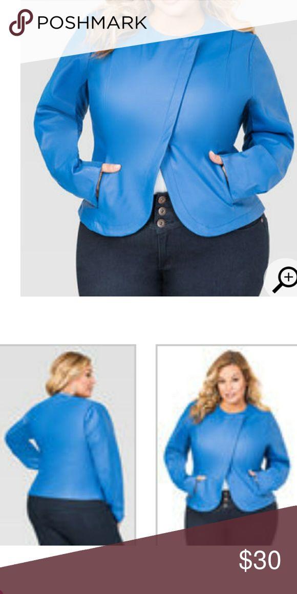 Faux leather jacket Faux leather jacket Ashley Stewart Jackets & Coats