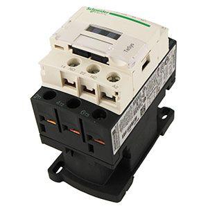 Contactor Telemecanique y térmico disyuntor para las cajas eléctricas de los Pivots. Contactores inversores del panel principal y kit de condenación.