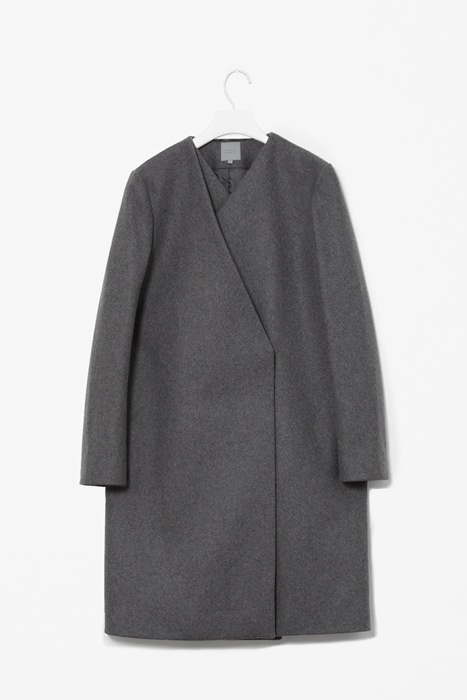 COS wool layered coat
