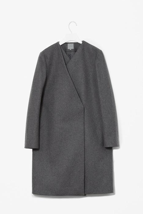 COS wool layered coat