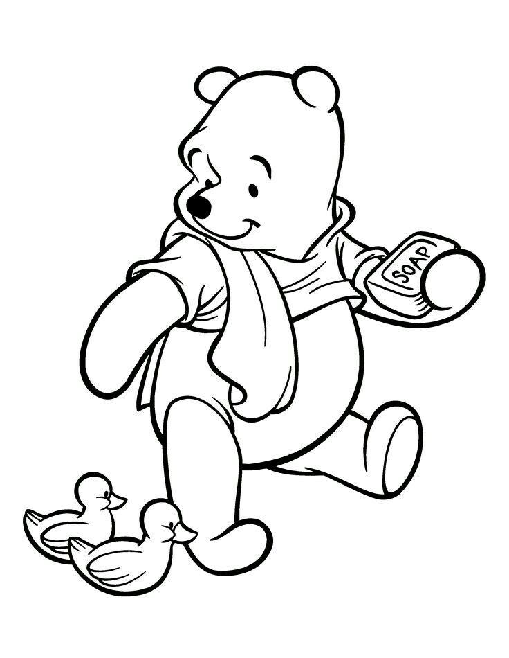 Winnie pooh disney para pintar Pinterest
