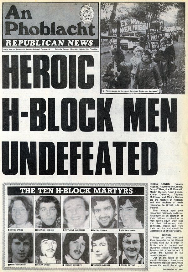 This Day in History: Oct 3, 1981: Irish hunger strike ends