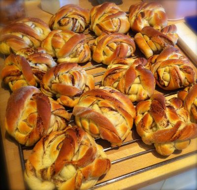Kanelsnurrer med oppskrift fra Åpent Bakeri