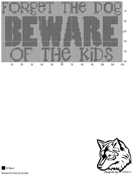 BEWARE THE KIDS by ACCALIA