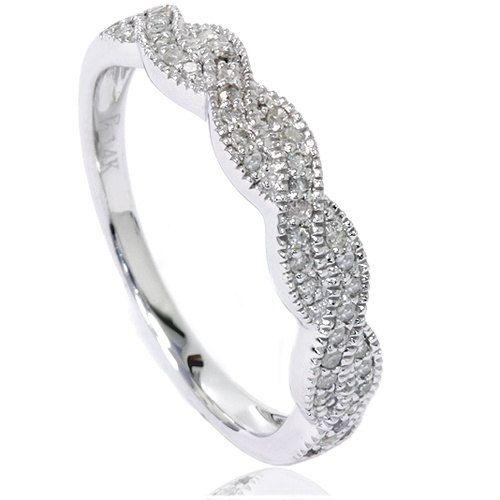 Diamond Wedding Infinity Ring