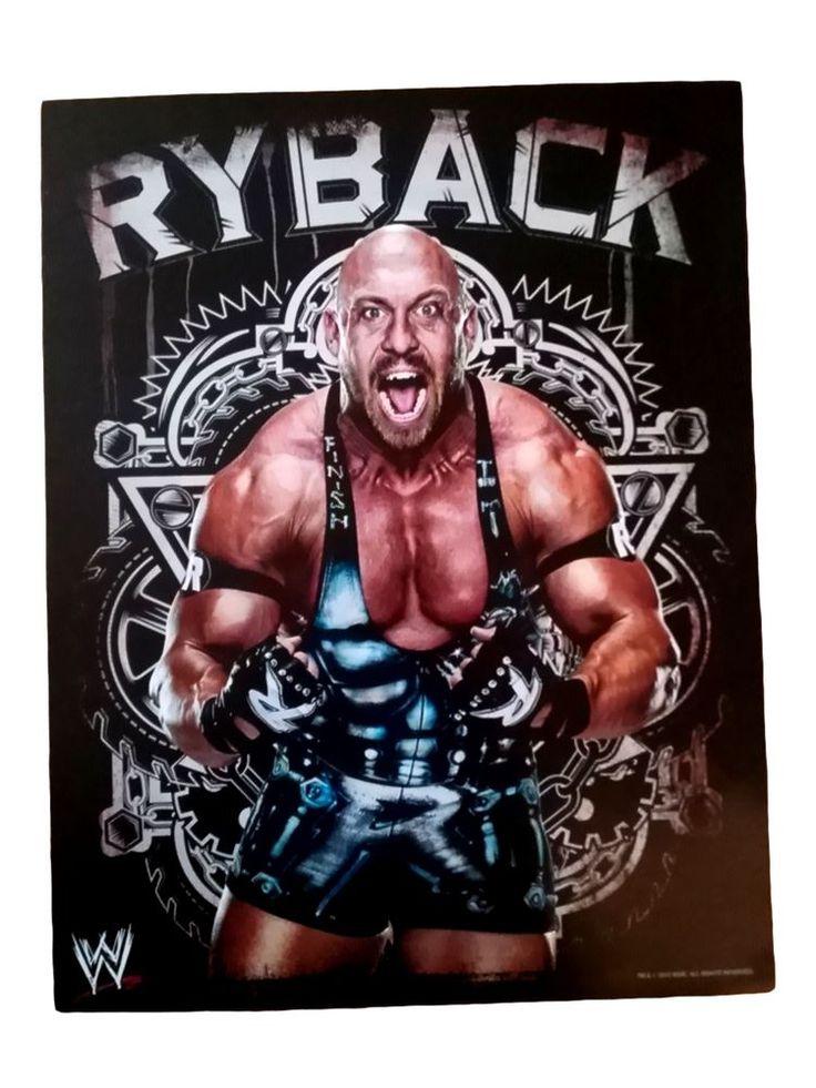 WWE Ryback Picture Poster (Big Show, Dolph, Miz, Cena, Rollins, Reings, WWF) in Sports Mem, Cards & Fan Shop, Fan Apparel & Souvenirs, Wrestling | eBay