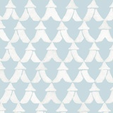 Tents wallpaper in Harbor / Bright White from Galbraith & Paul (New, Fall 2012)