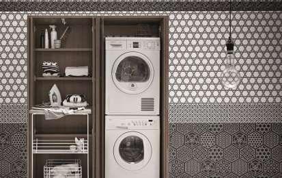 Mobili componibili per lavanderia - Mobile lavanderia componibile Birex