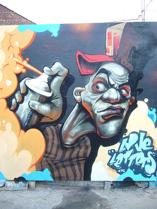 Graffiti Art: Waiting for Public and Official Acknowledgement