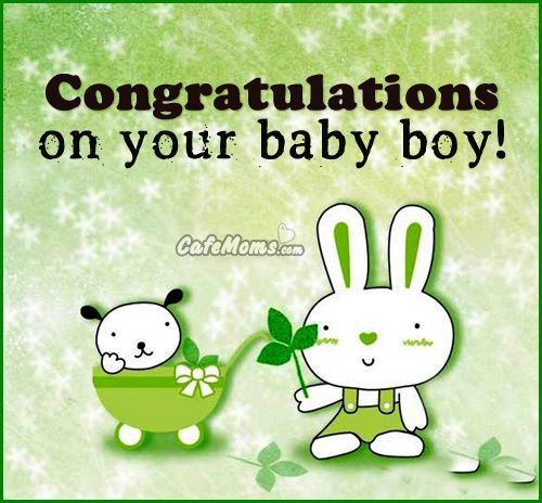 Quotes For Baby Boy Arrival: Congratulations On Your Baby Boy Graphic Plus Many Other